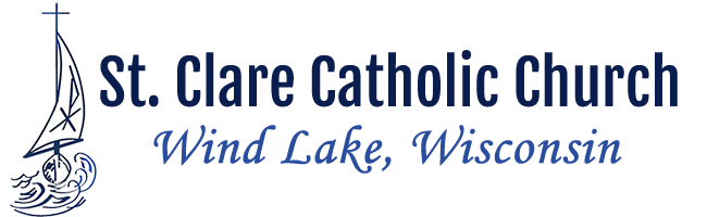Mass Schedule - St  Clare Catholic Church